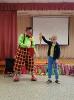 Артисты Росгосцирка эквилибристы на першах Саралаевы и клоун Alex посетили наш детский дом_10