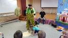 Артисты Росгосцирка эквилибристы на першах Саралаевы и клоун Alex посетили наш детский дом_12