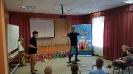 Артисты Росгосцирка эквилибристы на першах Саралаевы и клоун Alex посетили наш детский дом_18