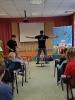 Артисты Росгосцирка эквилибристы на першах Саралаевы и клоун Alex посетили наш детский дом_1