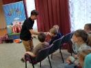 Артисты Росгосцирка эквилибристы на першах Саралаевы и клоун Alex посетили наш детский дом_20