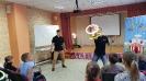 Артисты Росгосцирка эквилибристы на першах Саралаевы и клоун Alex посетили наш детский дом_30