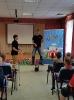 Артисты Росгосцирка эквилибристы на першах Саралаевы и клоун Alex посетили наш детский дом_32