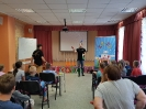 Артисты Росгосцирка эквилибристы на першах Саралаевы и клоун Alex посетили наш детский дом_37