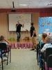 Артисты Росгосцирка эквилибристы на першах Саралаевы и клоун Alex посетили наш детский дом_49
