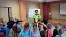Артисты Росгосцирка эквилибристы на першах Саралаевы и клоун Alex посетили наш детский дом_4