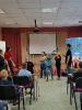 Артисты Росгосцирка эквилибристы на першах Саралаевы и клоун Alex посетили наш детский дом_50