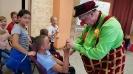 Артисты Росгосцирка эквилибристы на першах Саралаевы и клоун Alex посетили наш детский дом_53