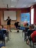 Артисты Росгосцирка эквилибристы на першах Саралаевы и клоун Alex посетили наш детский дом_5