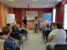 Артисты Росгосцирка эквилибристы на першах Саралаевы и клоун Alex посетили наш детский дом_60