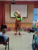 Артисты Росгосцирка эквилибристы на першах Саралаевы и клоун Alex посетили наш детский дом_61