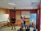 Артисты Росгосцирка эквилибристы на першах Саралаевы и клоун Alex посетили наш детский дом_63