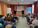 Артисты Росгосцирка эквилибристы на першах Саралаевы и клоун Alex посетили наш детский дом_7